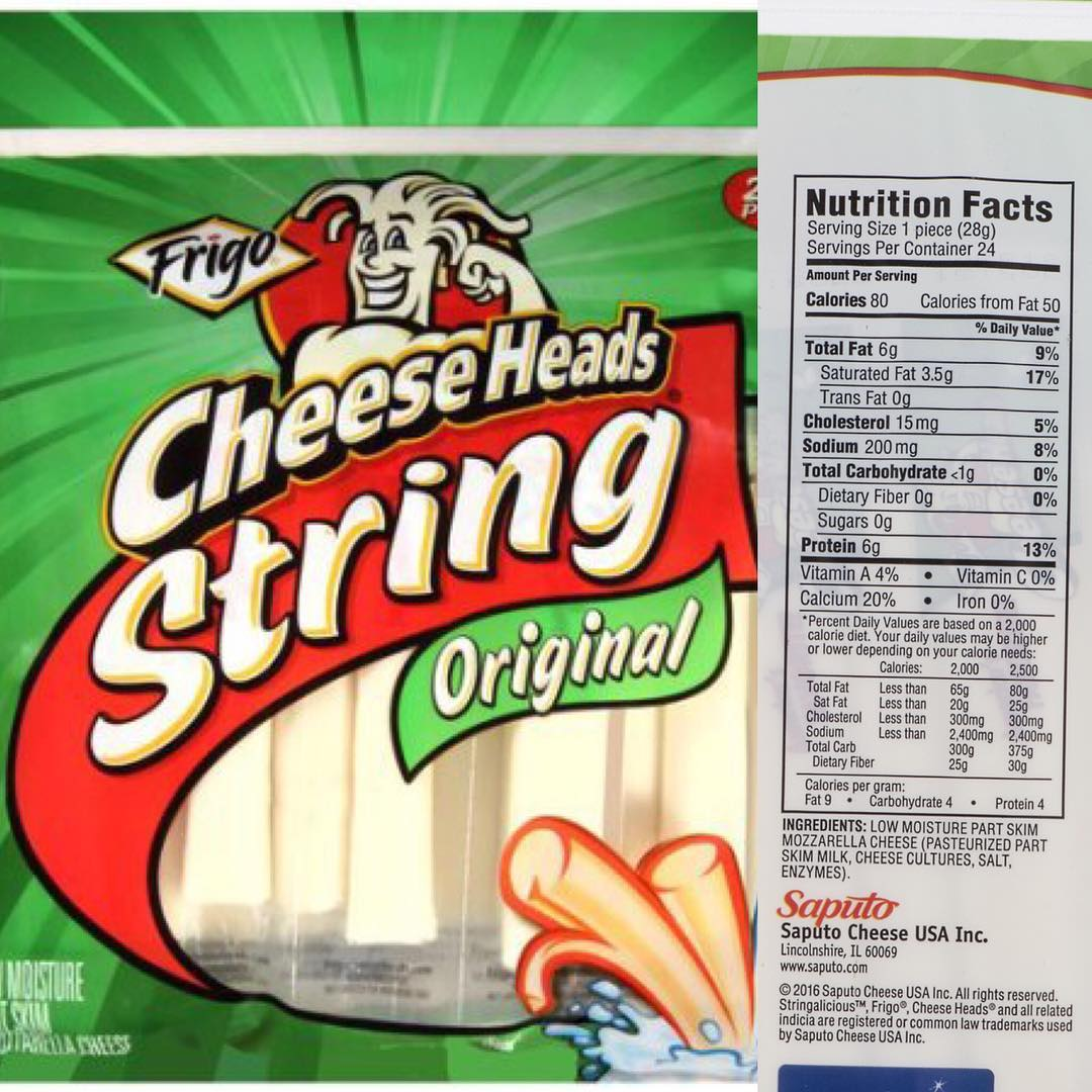 A go-to snack on the run for me… remember when you used to grab a banana when you ran out the door? I grab this @frigocheeseheads string cheese now instead!! Less than 1g of carbs in it