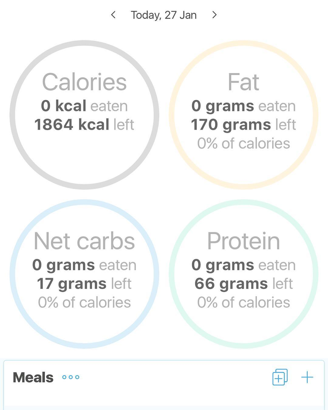 Is there an app you use to keep track of your macros? I've used Keto Diet app but have gotten to the point that I just really know what's going on with my diet without it