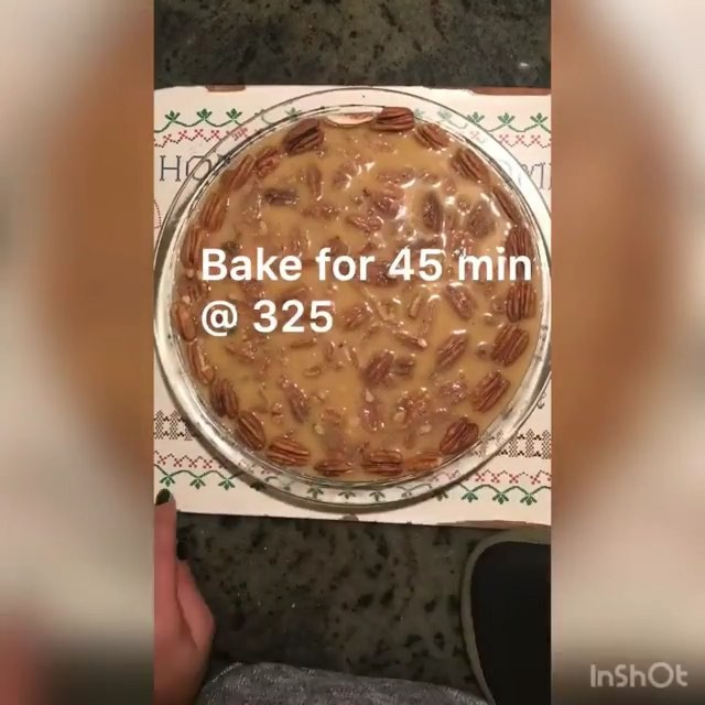 I've been wanting to try this recipe from @kikitwithkiki, so I can't wait till after my trip to test it out! As soon as I do I will let you guys know how it went.!! —- Repost @kikitwithkiki ・・・ * Guilt- free Pecan Pie ?: 3/4 c butter; 1 c milk, 1 c @swervesweetie for the filling. Crust : 3/4 c almond flour, 1/4 c coconut flour, 1 egg, salt. Filling: 3 eggs, sauce syrup from the first step, and tsp of vanilla, finally add pecans. Enjoy